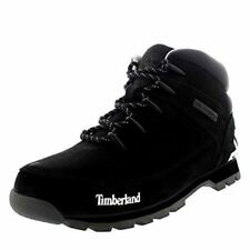 Mens Timberland Euro Sprint Hiker Black Walking Leather Ankle Boot