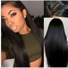 Long Straight Lace Front Wigs Natural Black Synthetic Lace Front Wigs For Women