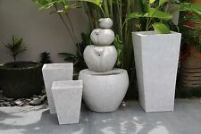 NEW Balinese TERRAZZO Pots & Water Feature, Hand Crafted Bali Pots/Water Feature
