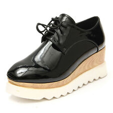 Hot Womens Lace Up Creepers Platform Wedges High Heels Oxfords Shoes Ankle Boots