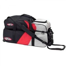 C300 Team 3 Ball Bowling Scooter Bag Tote bag black/red/silver