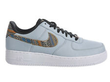 NEW MENS NIKE AIR FORCE 1 LV8 BASKETBALL SHOES TRAINERS LIGHT ARMORY BLUE / WHIT