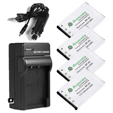 1050mAh NP-20 Battery + Charger For Casio Exilim EX-Z60 EX-Z70 EX-Z75 EX-Z77