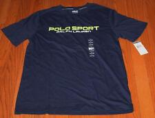 NEW NWT Polo Ralph Lauren Boys Graphic Tee T-Shirt POLO SPORT French Navy *W9