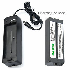 Kastar Battery Charger Canon SELPHY CP330 CP400 CP600 CP710 CP730 CP770 CP900