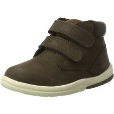 Timberland Toddle Tracks Hook & Loop Dark Brown Nubuck Infant Ankle Boots