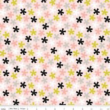 Riley Blake Fabric - Meow Asterisk C6562 Pink by Marcia Cornell - Quilting, Cat