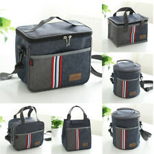 Lunch Box Case Bag Tote Hot Cold Insulated Thermal Cooler Work School Picnic New