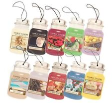Lot of 3 Yankee Candle Classic Paperboard Car Jar Air Fresheners Choose Scents