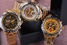 Men's Automatic self-winding Tachymeter Vintage Mechanical Water Resistant Watch