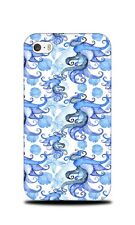 BLUE NAUTICAL SQUID OCTOPUS HARD CASE COVER FOR APPLE IPHONE 4 / 4S