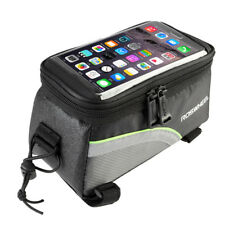Bicycle Phone Pouch Frame Front Bag Tube Bike Pannier Touch Screen Panniers Cell