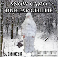 3D Grassy Ghillie Suit Woodland Camouflage Desert Jungle White  Hunting Clothing