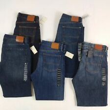 Lucky Brand 221,361 Men's Classic Straight Leg Blue Jeans Size 33,36,34,38 NWT