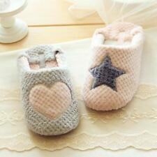 Women Home Slippers Warm Winter Cute Indoor House Shoes Skidproof Non-slip Flats