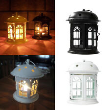 Retro Metal Moroccan Garden Votive Candle Holder Table/Hanging Lantern 6 Styles