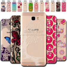 For Samsung Protective Silicone Rubber Soft Back Case TPU Shockproof Skin Cover