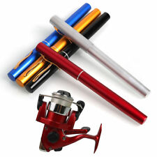 Mini Pocket Pen Fishing Rod Telescopic Rod with Fishing Reel and Line Kits