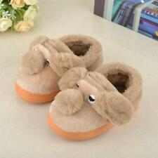 Winter Children Home Slippers Kids Baby Cotton Indoor Shoes Plush Warm Soft New