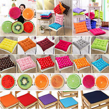 Home Decor Chair Cushion Seat Pads Tie On Garden Dining Kitchen Office Patio NEW
