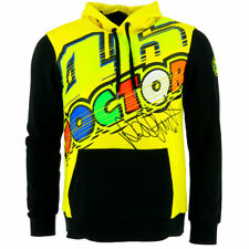 Valentino Rossi VR46 Moto GP The Doctor Hoodie Fleece Yellow Official 2017