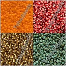 10g Round Toho Glass Seeds Beads size 11/0 Japan Rocailles Beads 100 COLOR