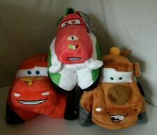 "18"" Plush Pillow Pets Disney Cars Lightning McQueen, Tow Mater or Francesco NWT"