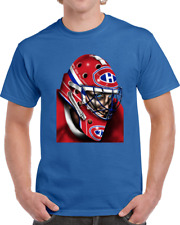 Montreal Canadiens Patrick Roy Hockey Goalie Mask T-Shirt