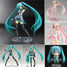 UK Anime PVC Action Figure Vocaloid Hatsune Miku/Sakura Collection Manga Toy Box