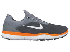 NEW MENS NIKE FREE TRAINER V7 CROSS TRAINING SHOES TRAINERS COOL GREY / HYPER CR