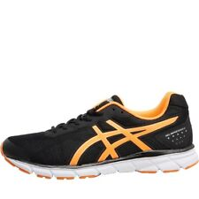 NEW Asics Mens Gel Impression 9 Neutral Running Shoes Black/Shocking Orange