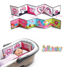 Baby Cloth Book Mobile Crib Bed Around Plush Toys Cot Animals Bumper colorful