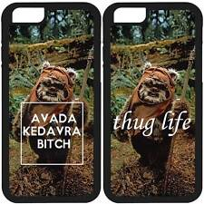EWOK THUG LIFE BITCH  SAMSUNG GALAXY NOTE 2 3 4 5 EDGE COVER CASE US