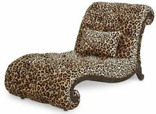 AICO Furniture - Victoria Palace Armless Chaise - Grp1/Opt1 - 61841-LEOPD-29