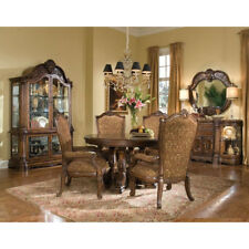 AICO Furniture - Windsor Court 8 Piece Dining Room Set in Vintage Fruitwood - 70