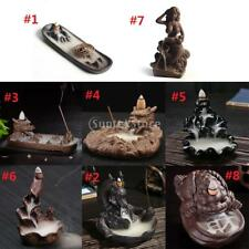 Collectible Ceramic Incense Cone Burner Censer Furnace Novelty Home Decors