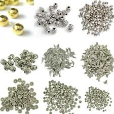 20/50/100pcs Multi Design Loose Spacer Beads DIY Jewelry Making Findings