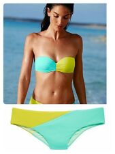 New VICTORIA'S SECRET The Flirt Push up Bandeau 34B  and The Classic Hipster S