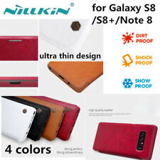 Nillkin Flip Case Shockproof Wallet Leather Cover For Samsung Galaxy S8 / Note 8