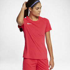Nike DRY ACADEMY WOMEN'S SHORT-SLEEVE FOOTBALL TOP Siren Red - XS, S, M, L Or XL