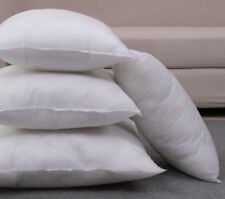 """Set of 4 Hollowfibre Square Cushion Pad Inner Insert Fillers All Sizes 12"""" - 30"""""""