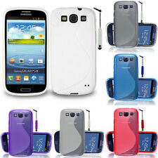 Protective Cover for Samsung Galaxy S3 i9300/i9305 Neo TPU Silicone Case Shell