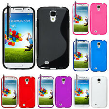 Cases for Samsung Galaxy S4 i9500/i9505 TPU Silicone Flip Cover Case