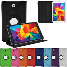 Faux Leather 360° Rotating Protective Cover for Samsung Galaxy Tab 4 8.0 Wi-Fi
