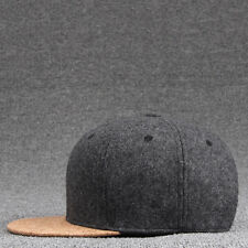 Men's Fashion Brim Baseball Cap Snapback Hip-hop Hat Cork Trucker Adjustable