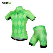 Unisex Bicycle Road Bike Jersey Shorts Sets Cycling Pure Outdoor Sport Clothing