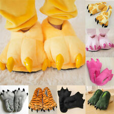 Winter Soft Plush Stuffed Cosplay Adult Kid Warm Indoor Funny Slippers