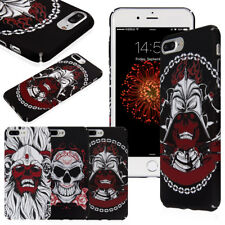 Shockproof Protective Night Grow Halloween Skull Case Cover For iPhone 7/8 Plus