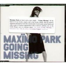MAXIMO PARK Going Missing CD UK Warp 2005 2 Track B/W A19 In Promo Info