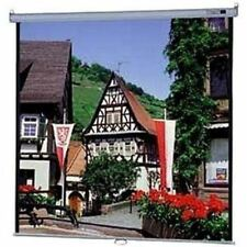 """Da-Lite Model B Manual Wall and Ceiling Projection Screen - 50"""" x 50"""" - Matte Wh"""